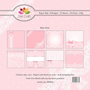 Dixi Craft - Paperpack - Baby - Pink