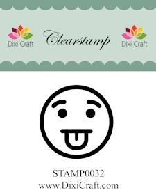 Dixi Craft - Clearstamp - Smiley 4
