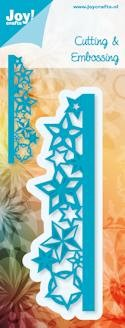 Joy!Crafts - Cutting & Embossing - stencil rand met sterren