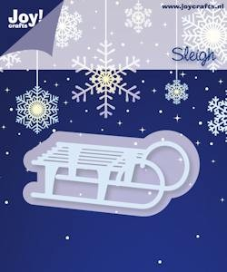 Joy!Crafts - Cutting & Embossing - Stencil sleigh