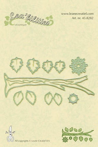 Leane Creatief -  Branch 4 seasons cut & embossing die