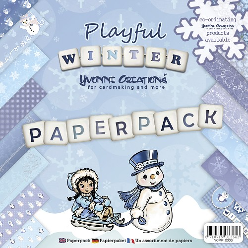 Yvonne Creations - Paperpack - Playful Winter