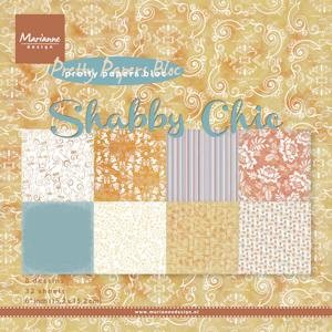 Marianne Design - Pretty Papers Bloc - Shabby chic 15 x 15 cm