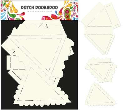 Dutch Doobadoo - Dutch Card Art - Pie set 3 pcs