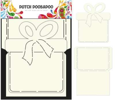 Dutch Doobadoo - Dutch Card Art - Present set 2 pcs