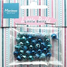 Marianne Design Little bells light blue & dark blue