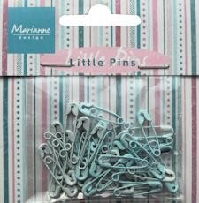 Marianne Design Little pins light blue & blue