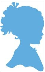 Marianne Design - Die - Creatables - stencil silhouette girl with ponytail