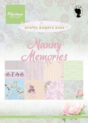 Marianne Design - Pretty Papers Bloc - Nanny memories