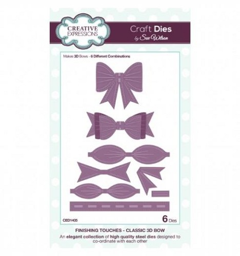 Creative Expressions - Craft Dies - Finishing Touches - Classic 3D Bow