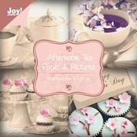 Joy!Crafts - Papierblok - Afternoon tea
