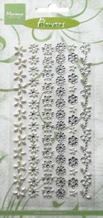 Marianne Design Decoration flowers pearl - strass