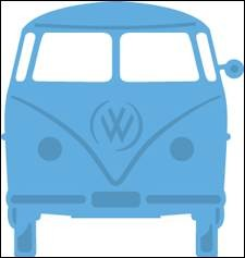 Marianne Design - Die - Creatables - VW bus