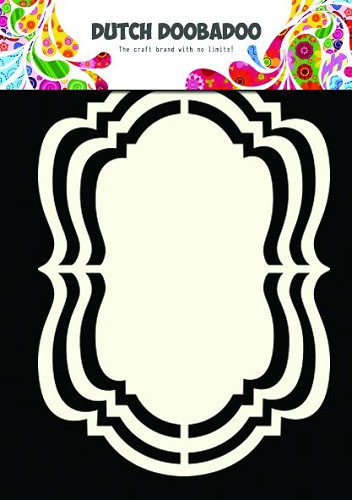 Dutch Doobadoo - Dutch Shape Art - Ornate