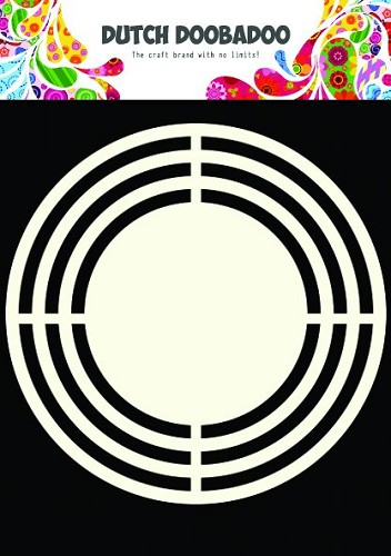 Dutch Doobadoo - Dutch Shape Art - Circle
