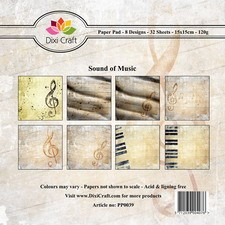 Dixi Craft - Paperpack - Sound of Music