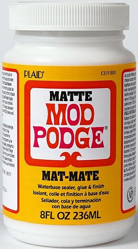 Mod Podge - Waterbase sealer, glue & finish - Mat
