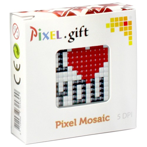 Pixel hobby - Pixel. gift - Start set - I love you