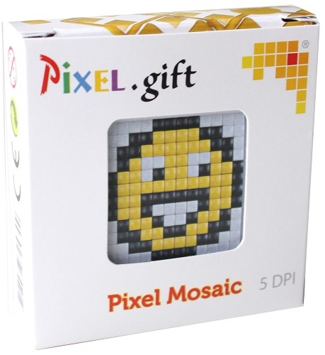 Pixelhobby - Pixel.gift - Start set - Smiley