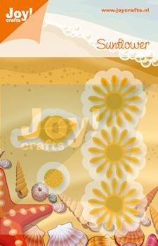 Joy!Crafts - Cutting & Embossing - stencil zonnebloem