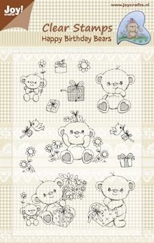 Joy!Crafts - Clear Stamps - Happy birthday bears