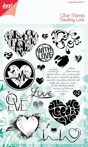 Joy!Crafts - Clear Stamps - Sending Love