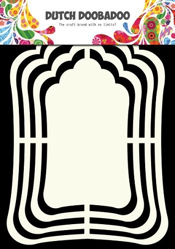 Dutch Doobadoo - Dutch Shape Art - Label Mirror A5