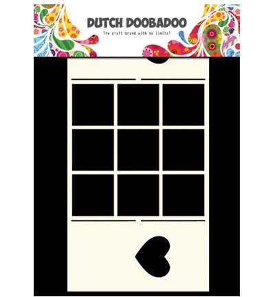Dutch Doobadoo - Dutch Card Art - Window