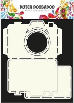 Dutch Doobadoo - Dutch Card Art - Camera set 2pcs