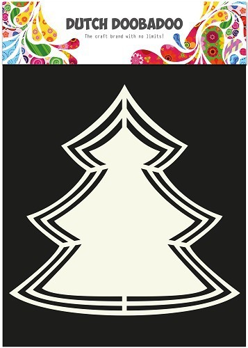 Dutch Doobadoo - Dutch Shape Art - Christmas Tree