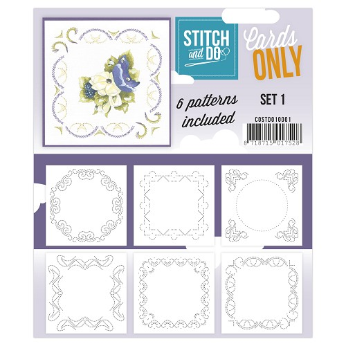Card Deco - Stitch & Do - Cards only - Set 1