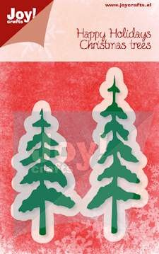 Joy!Crafts - Cutting & Embossing - Kerstbomen