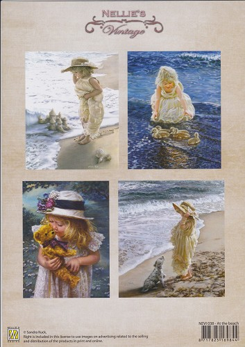 Nellie Snellen - Knipvel - Vintage - At the beach