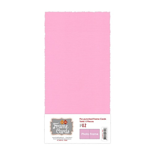 Frame Cards - Photo Frame - Vierkant - Roze