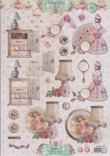 Studio Light - Knipvel - Vintage - Shabby Chic 3D