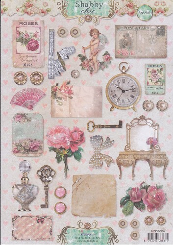 Studio Light - Knipvel - Vintage - Shabby Chic Specials