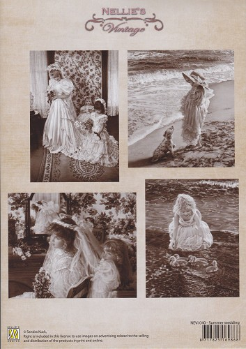 Nellie Snellen - Knipvel - Vintage - Summer Wedding