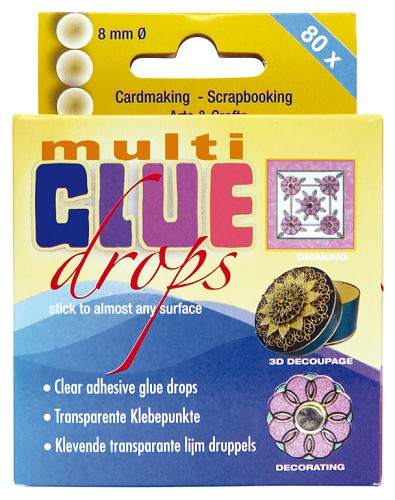 Multi Glue Drops 8mmØ