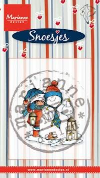 Marianne Design - Clearstamp - Snoes & snowman