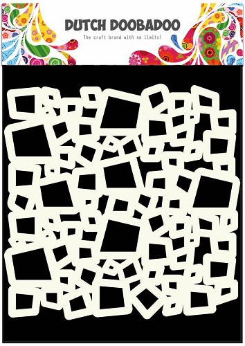 Dutch Doobadoo - Dutch Mask Art - Squares