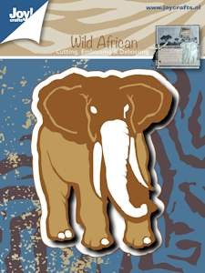 Joy!Crafts - Cutting & Embossing- Olifant