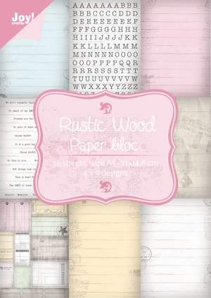 Joy!Crafts - Paperpack- Rustic Wood