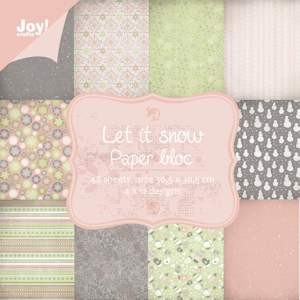 Joy!Crafts - Paperpack- Let it Snow