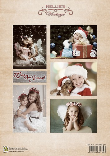 Nellie Snellen - Vintage - Christmas girls