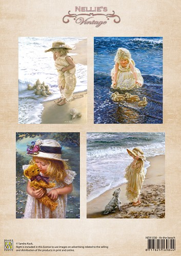 Nellie Snellen - Vintage - At the beach