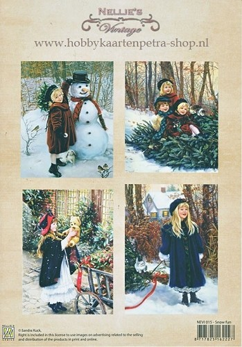 Nellie Snellen -  Vintage - Snow fun