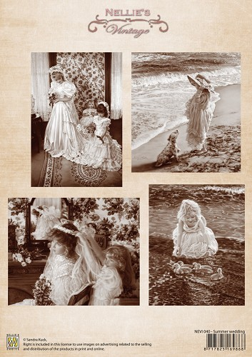 Nellie Snellen - Vintage - Summer wedding