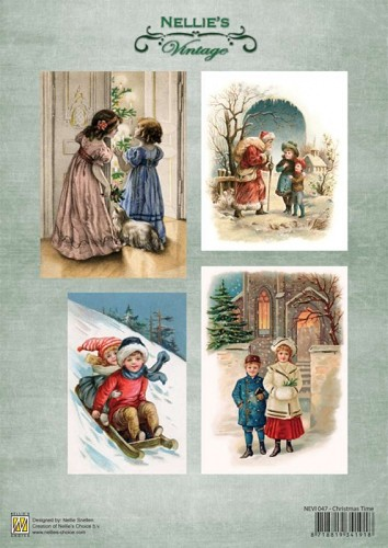 Nellie Snellen -  Vintage - Christmas Time