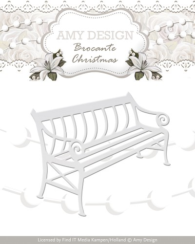 Amy Design - Die - Brocante Christmas - Bench