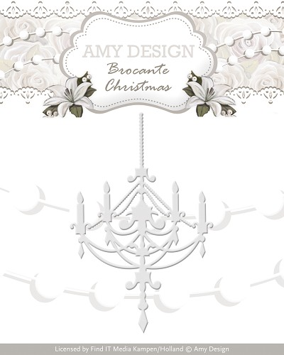 Amy Design - Die - Brocante Christmas - Chandelier
